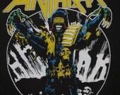 Original ANTHRAX vintage 1987 tour T SHIRT