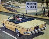 vintage original advertisement: vintage cars/chevrolet 1960s