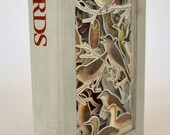 "Book carving: ""Field guide to birds"""