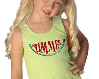 Watermelon Shirt - Girls Summer Clothes, Watermelon Dress, Summer Dress, Watermelon Birthday, Watermelon Party, Watermelon Outfit, Baby Girl