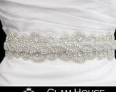 Bridal Sash,Wedding belt,bridal accessories,bridal belt,Vintage wedding,wedding sash,dress belt,rhinestone belt,winter wedding,prom,sash