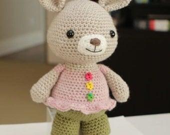 Amigurumi Crochet Pattern - Rosie Bunny Rabbit