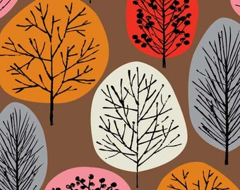 Lollipop Trees Red, limited edition giclee print