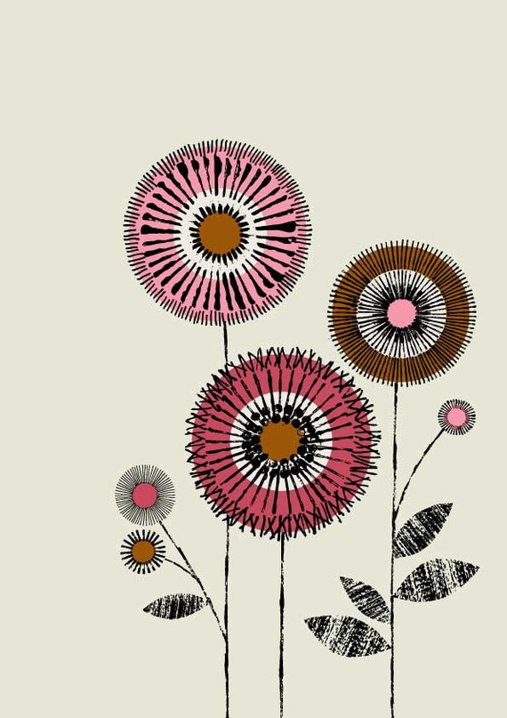 I Love Flowers No2, limited edition giclee print