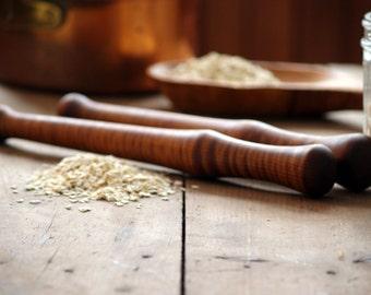 Oatmeal Spurtle, Wood Spurtle, Kitchen Food Prep, Wood Kitchenwares