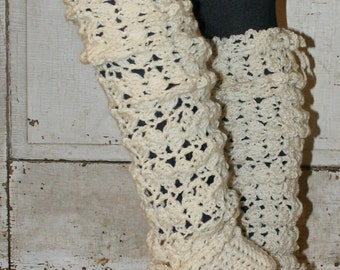 Crochet Boots Pattern----5 Styles in 1-----LEGWARMER BOOTS COMBO---Wear em as leg warmers-wear em as boots-----Instant Download