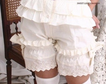 Victorian Lolita Drawers Chemise Bloomer Shorts LARP