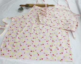 Lemons and Cherries Mother Daughter Aprons