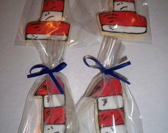 Book theme Sugar Cookies