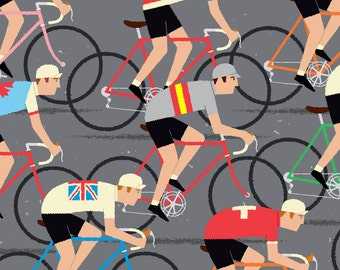Cycle Gift, World Road Race Championship Cyclists, Peloton Cycling Poster
