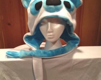 Polar Bear Hat Fleece US PAT