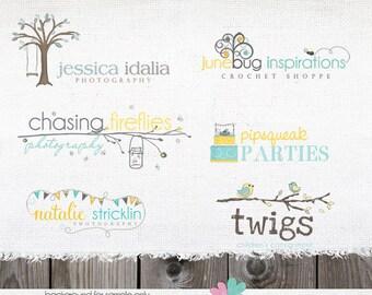 Custom Logo Design - Completely Custom Design for Photographer or Small business Shop