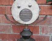 Mr. Bill - found object sculpture