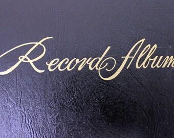 Vintage Black '78 Record Album w/ 4 Records: Mambo Jambo, Etc. (E609)