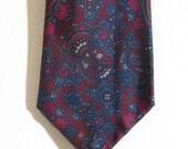 Vintage Stefano Ricco silk paisley necktie