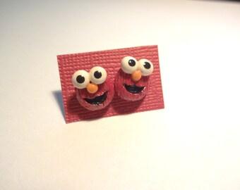 Baby Elmo Stud Earrings
