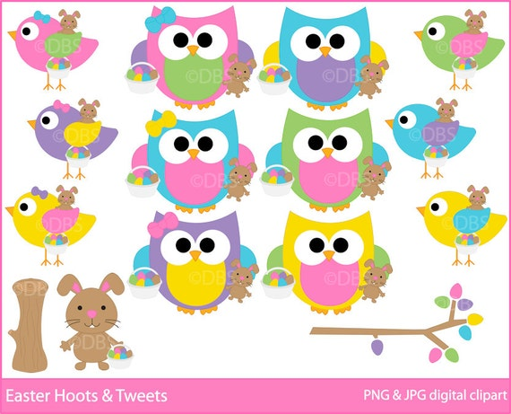 free easter owl clip art - photo #15
