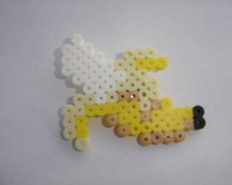 Pixel art cute banana pin brooches pin badge fruit food 16bit 8bit jewelry original design