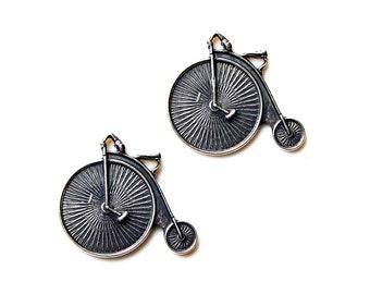 Big Wheel Cufflinks - Gifts for Men - Anniversary Gift - Handmade - Gift Box Included