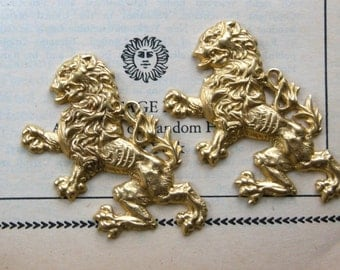 Chinese Lion Charm  (1 pc)