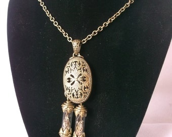 Steampunk Time Capsule Necklace