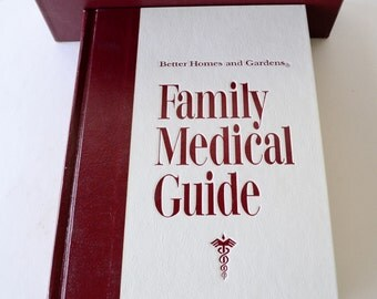 1973 book, Family Medical Guide by Better Homes & Gardens from Diz Has Neat Stuff