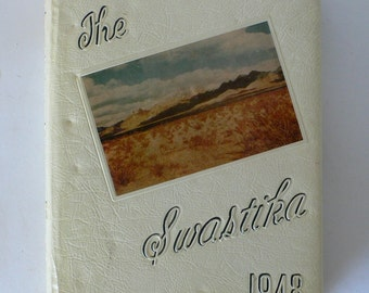 1948 yearbook, The Swastika from New Mexico A and M College from Diz Has Neat Stuff