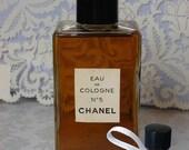 Vintage Chanel NO 5 Perfume Sample Bottle EDC Eau de Cologne Perfume 2 ml Handmade Decant Vintage Pre-Reformulation