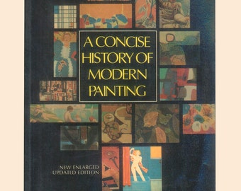 A Concise History of Modern Painting by Herbert Read 1974 Trade Paperback with Color Illustrations