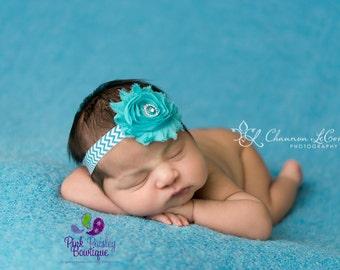 Baby Headband - You Pick 1 Chevron Headbands -Baby Hairbow Headband - Infant Headbands - Newborn Headbands - Baby Hair Accessories