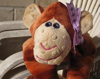 Monkey STUFFED ANIMAL Sewing Pattern - Digital Download