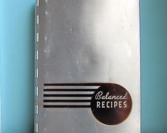 Pillsbury Balanced Recipe Cookbook 1933  by Mary Ellis Ames