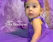 Purple Tutu Dress- Baby Girl
