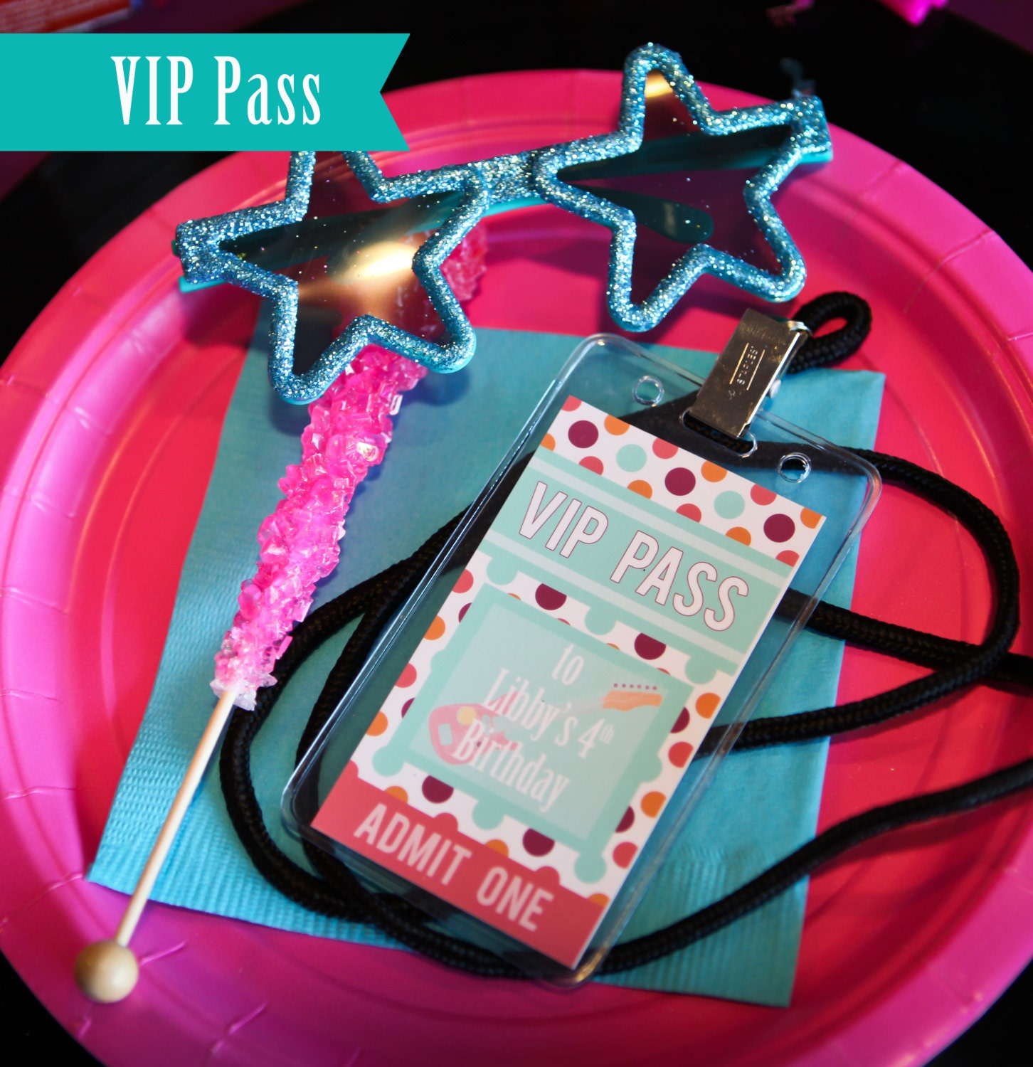 Vip Pass ROCKSTAR Birthday VIP ...