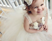 TUTU FLOWER GIRL Dress: The Hayden dress, size 4t-6