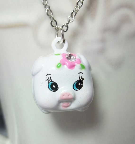 pig necklace gift jewelry gift piggy by
