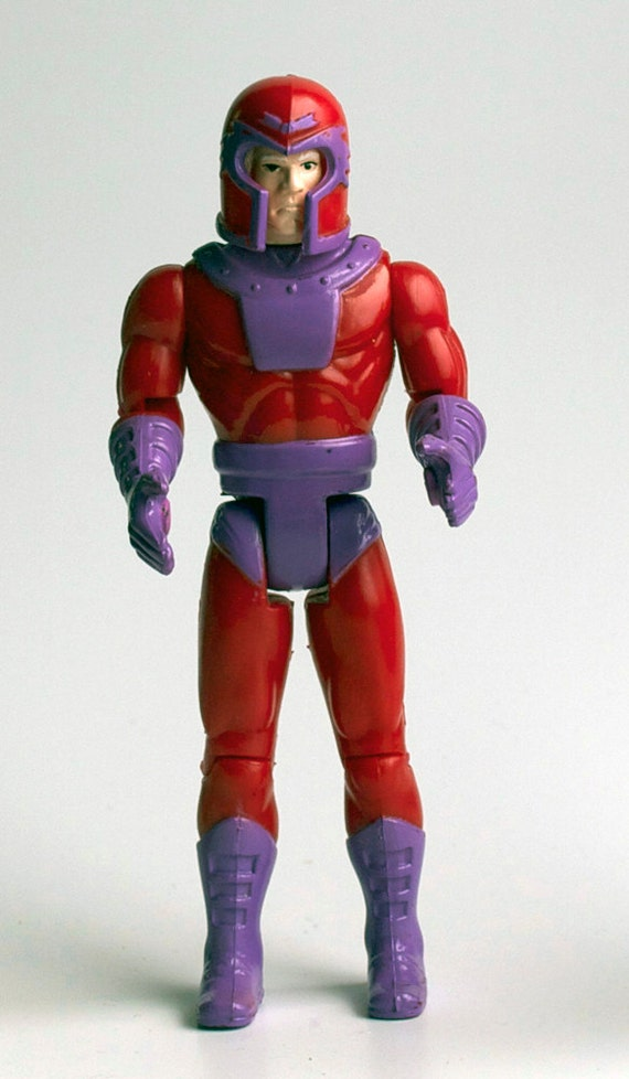 Magneto X-men Action Figure, 1992 Vintage, Marvel Comics