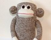 Sale / Classic Sock Monkey / 18 inches