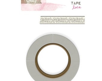 50% OFF - Glitz Design Love You Madly Washi Tape -  Lace -- MSRP 4.00