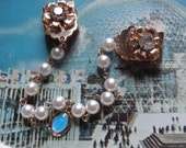 Sweet Sweater Clips with Virgin Mary Mini Pendant