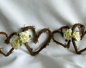 Floral Garland, Barn Wedding Decor, Rustic Decorations,  5ft