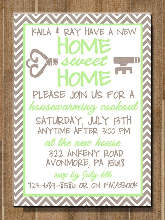 Shocking image with printable housewarming invitations