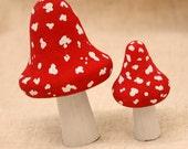 Fairy Mushroom / Toadstool set.