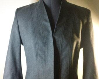 Vintage Rene Lezard gray wool Jacket