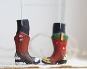 SALE! Cowboy and cowgirl bookmarks. Set of 2. Unusual legs bookmarks. Present for couple. Valentine.