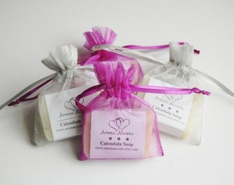30 Bridal Wedding Shower Favor Guest Soaps 100% Natural Cold Processed