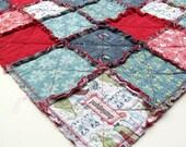 Baby Rag Quilt, Feather N Stitch Rag Quilt