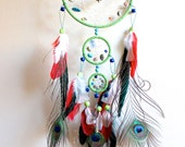 SALE 30% OFF. Dreamcatcher. Wings of Beauty, Fly Free into Night.