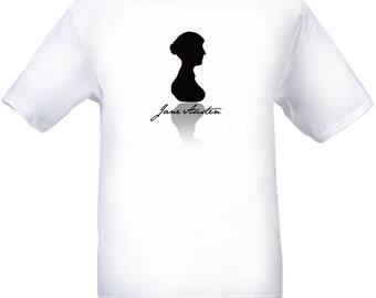 Jane Austen Silhouette Signature T-Shirt