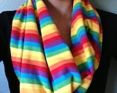 Without Fear, Rainbow Infinity Scarf, Long Style